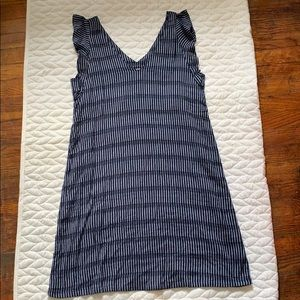 Blue & White Stripped Fat Face Dress UK 10 - US 6